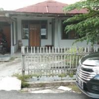 Lelang agunan PT. BRI Cab. P. Raya Tanah + rumah debitur Bambang Supramono SHM No.609 an. Saripah dan Ngatemin (Orang Tua Debitur).