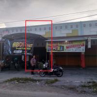Lelang agunan PT. BRI Cab. P. Raya Tanah + toko debitur Istiani SHM No.3702 a.n. Istiani