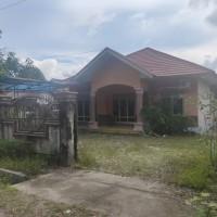 Lelang agunan PT. BRI Cab. P. Raya Tanah +rumah debitur Ucue Mastur Bangkan SHM No.7549 a.n. Duyu