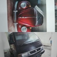 Satu paket terdiri dari kendaraan roda 4 Volks Wagen Nopol D 379 BK dan Suzuki/Pick Up Nopol DK 8143 DV (PN Kelas IA Denpasar)