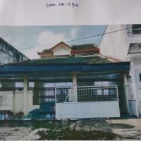 1 bidang tanah dengan total luas 120 m2 berikut bangunan di Kota Bandar Lampung