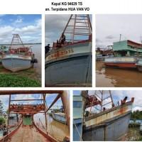KEJARI PONTIANAK 4 : Kapal KG 94629 TS, kompas expres, radio marine super star, radio SSB Icom IC-718