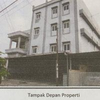 Harta Pailit- bidang tanah seluas 360 m2 berikut bangunan Ex home stay terletak di dikenal Jl. Pelita III No. 03 Sidorame Barat Kota Medan