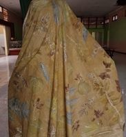 1 (satu) buah Kain Batik Ecoprint