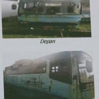 (SUPM Ambon) 1 (satu) unit minibus Isuzu/NKR 66, Tahun perolehan 2004, Nomor Polisi DE 7057 AM, Kondisi Rusak Berat