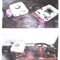 Lot 3, 1 unit kompesor, 2 unit mesin katingting kondisi rusak berat (Rampasan Kejari Halmahera Selatan)