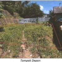 (BNI) Sebidang tanah kosong seluas 84 m2 terletak di Kebun Cengkeh, Kota Ambon