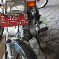 KPP Garut 3. Motor Honda MCB Win, Th.2004, No.Pol  Z 3261 D, kondisi rusak berat (BPKB ADA, STNK ADA)