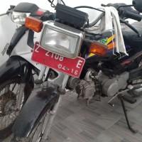 KPP Garut 5. Motor Honda MCB Win, Th.2006, No.Pol  Z 2108 E, kondisi rusak berat (BPKB TIDAK ADA, STNK TIDAK ADA)
