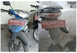 KPPBC PONTIANAK 5 : Suzuki / FD 125 XSD Nopol KB 2897 WL Tahun 2007