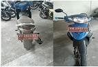 KPPBC PONTIANAK 6 : Suzuki / FD 125 XSD Nopol KB 2902 WL Tahun 2007