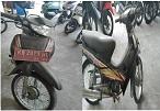KPPBC PONTIANAK 7 : Honda / NF100L Nopol KB 2901 WL Tahun 2004