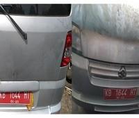KPPBC PONTIANAK 1 : Suzuki APV DLX Nopol KB 1644 HT Tahun 2006