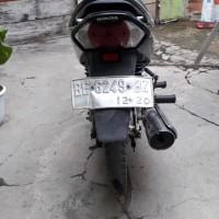 KKP Panjang Lot3. 1 (satu) Unit Sepeda Motor Merk Honda Tahun 2005 Nopol BE 6249 B kondisi Rusak Berat