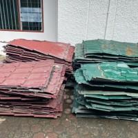 BKSDA Sumut - Satu paket sisa material atas bangunan yang telah dibongkar dengan kondisi apa adanya / rusak berat