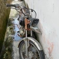 Kantor Pertanahan Kota Tanjungbalai: 1 (satu) unit sepeda motor dalam keadaan scrab