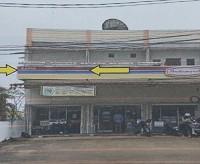 2a BNI Pontianak: Sebidang tanah berikut bangunan Ruko SHM No. 21683 luas tanah 92 m2 di Desa Pal IX, Kec. Sungai Kakap, Kab. Kuburaya