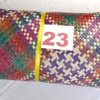 23.Dekranasda: 1 (SATU) BUAH ANYAMAN TIKAR PANDAN , Uk. 2,5 x 3,5 m