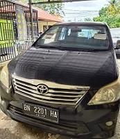 5. KPP Pangkalpinang 1 (satu) Unit Mobil Toyota Kijang Innova G BN 2201 HA Tahun 2012