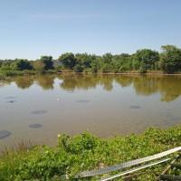 Sebidang tanah kosong SHM No. 2340 luas 200 m2 terletak di Kel. Medokan Ayu, Kec. Rungkut, Kota Surabaya (BSI Mayjen Sungkono)