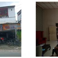 BNI - 3. Tanah dengan luas total 418 m2  berikut bangunan diatasnya yang yang terletak di Jl.Sisingamangaraja, Kelurahan Pematang Tanah Jawa