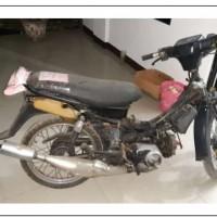 Kejari Pematangsiantar Lot 22, 1 (satu) unit Sepeda Motor Merk Yamaha Force one tanpa plat nomor  Polisi tanpa STNK dan BPKB