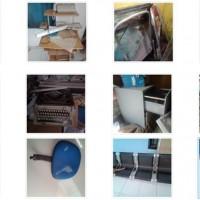 (Kantor UPP Tobelo) 1 (satu) Paket Barang Inventaris Kantor dengan kondisi rusak berat