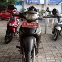 KPP Pbg: satu unit SPM Honda NF 125SD tahun 2006 Nopol R 9626 KC, berikut SS