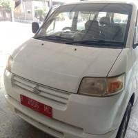 KPP Pbg: satu unit Suzuki APV DLX tahun 2006 Nopol R 9506 MC, berikut SS