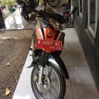 KPP Pbg: satu unit SPM Yamaha 5TP tahun 2005 Nopol R 6097 XC, berikut SS