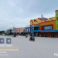 L. Eksekusi (PT BRI KC Timika) : Paket 2 SHM : tanah + ruko di atasnya, Luas total tanah 1.015 m2 (SHM 258 + SHM 413) di Timika Jaya, Mimika
