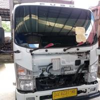 Kejari Kapuas: 1 unit  Mobil  Truck Merk Isuzu wama putih No.Pol   DA  8237 ME, tanpa STNK dan BPKB (1)