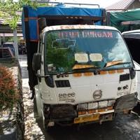 Kejari Kapuas: 1  unit  mobll  dump truck merk Isuzu No.Pol  DA  8179 EF,  tanpa STNK dan BPKB (2)