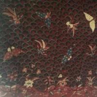 UMKM Batik Garutan (1) : 1 lembar Kain Batik Tulis RM Garutan Motif Lepaan Sisit