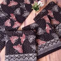UMKM Batik Garutan (6) : 6 lembar kain batik cap RM Garutan Motif Kupu-kupu