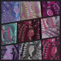UMKM Batik Garutan (9) : 1 lembar kain batik biron tulis motif merak ngibing (bisa pilih warna)