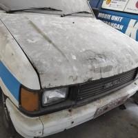 2.BKKBN Prov.Sumatera Utara, Satu unit mobil merk Isuzu/Panther TBR 52 Nopol BK 8033 J Thn 1991 kondisi rusak berat