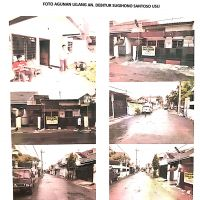 Sebidang tanah & bangunan SHM No. 3561 luas 170 m2 terletak di Kel. Petemon, Kec. Sawahan, Kota Surabaya (BRI Mulyosari)
