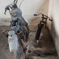 PN Stabat  - 1 (satu) paket scrap eks dua unit sepeda motor