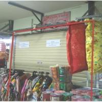 Unit toko, SHMASRS No. 00495 luas 5 m2 teretak di PGS Surabaya Lt.1 D3/9, Kel.Gundih, Kec.Bubutan, Surabaya (Bank Panin Cendana)