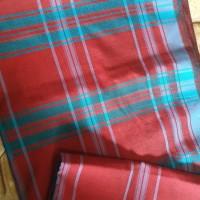 Sarung Rahmadina Lot 2 - 2 (dua) buah Kain Sarung Samarinda Motif Hatta ukuran 120 cm x 100 cm Kualitas No. 2