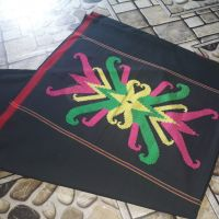 Sarung Rahmadina Lot 5 - 1 (satu)  buah Kain Sarung Samarinda Motif Cumi ukuran 120 cm x 100 cm Kualitas No. 1