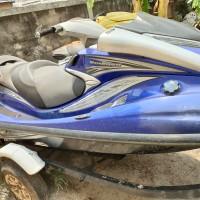 1 (satu) unit Jet Ski Yamaha Wave Runner FX Cruiser High Output warna biru No. Body us-yama3324K607 (tanpa dokumen kepemilikan)
