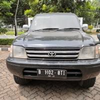 1 (satu) unit kendaraan roda empat merk Jeep Toyota Prado tahun 2001 warna hitam metalik, nopol 5700-00 (tidak ada Bukti kepemilikan)
