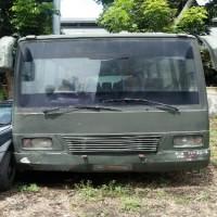 Paldam I/BB -1.   1 (satu) unit mobil merk/type Toyota Coaster, Tahun Pembuatan 2001, kondisi rusak berat dengan nomor Reg 7360-I