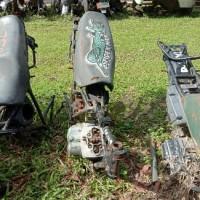 Paldam I/BB -7. 1 (satu) unit Sepeda Motor Patroli merk/type Suzuki 500 cc, Tahun Pembuatan 1995, kondisi rusak berat dengan nomor Reg 5909-
