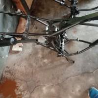 Paldam I/BB -10. 1 (satu) unit Sepeda Motor merk/type Suzuki TS 125, Tahun Pembuatan 2004, kondisi rusak berat dengan nomor Reg 8604-I