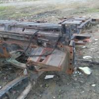 Paldam I/BB -1. 1 (satu) unit mobil merk/type Land Rover Defender 90 Kanvas, Tahun Pembuatan 1997, kondisi rusak berat, nomor Reg 6848-I