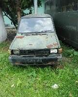 Paldam I/BB -6. 1 (satu) unit mobil merk/type Toyota Kijang, Tahun Pembuatan 1992, kondisi rusak berat dengan nomor Reg 5886-I