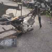 Paldam I/BB -8. 1 (satu) unit Sepeda Motor merk/type Yamaha YT-115, Tahun Pembuatan 2003, kondisi rusak berat dengan nomor Reg 7344-I
